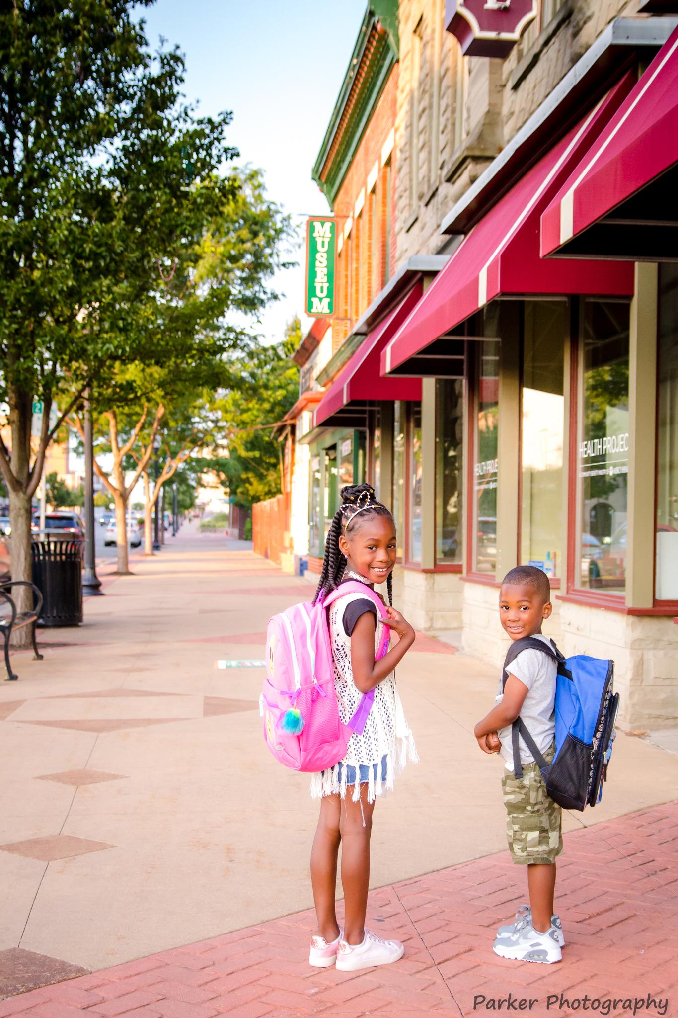 Bennett Family ~ Back To School